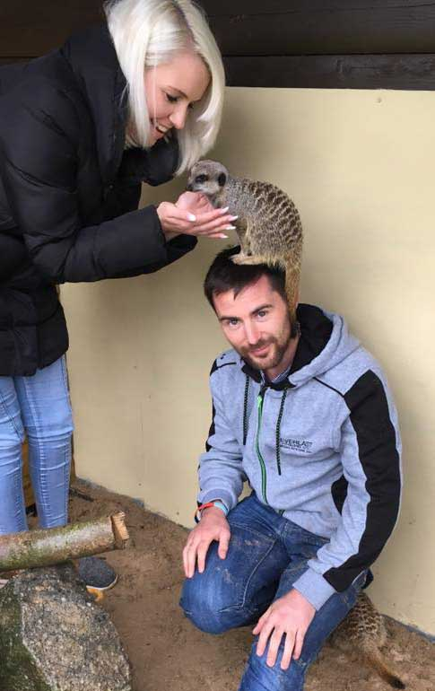Meet the Birds & Animals - Screech Owl Wildlife Park